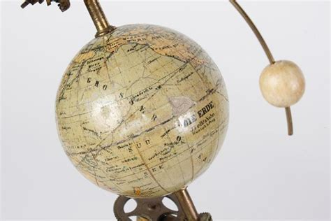 ANTIQUE ORRERY; ASTROLOGICAL DEMONSTRATION DEVICE - Bohemian