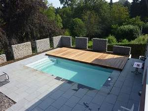 unique and functional rolling deck for your pools home With französischer balkon mit garten pool 3m
