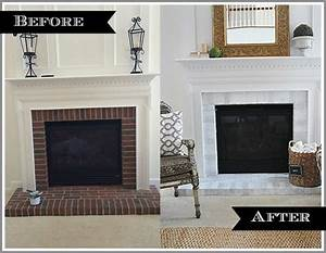 How-to paint your brick fireplace surround 11 Magnolia Lane