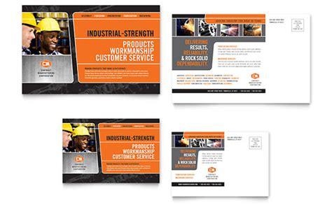 manufacturing engineering brochure template design