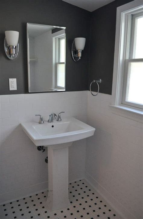 gray bathroom designs bathroom white walls black accent like charcoal aren t