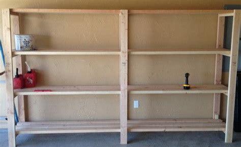 garage shelves diy   build  shelving unit