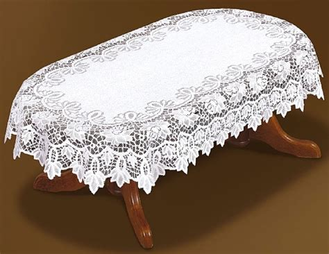 tablecloth for oval table tablecloth large oval lace white new 59 quot x 98 quot 150x250cm