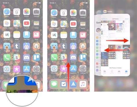 apps between iphones how to use multitasking and fast app switching on iphone x