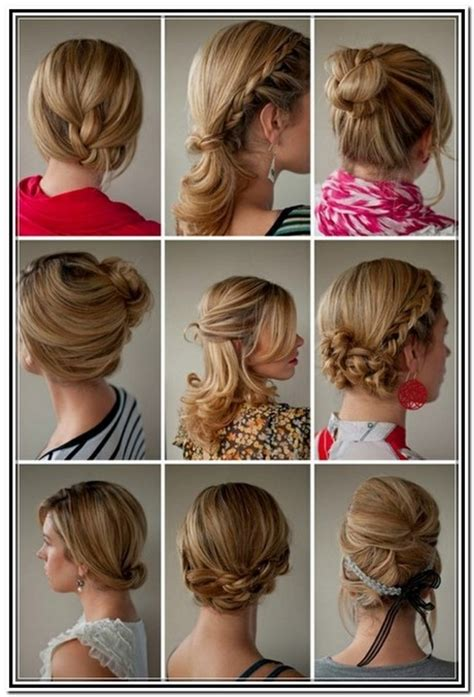 shoulder length hair updos tutorials foto video
