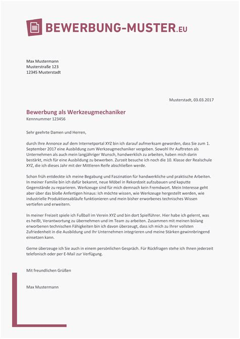 Initiativbewerbung Muster by 10 Initiativbewerbung Muster Kostenlos The