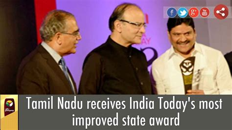 Tamil Nadu receives India Today's most improved state ...