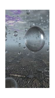 Visual Paradox Free 3D Wallpaper 'Raindrops' 1366x768 size ...