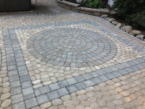driveway paver designs 3rd generation driveway hardscaper rockland county be