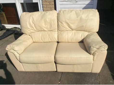 two seater settees leather 2 seater leather recliner settee wednesbury