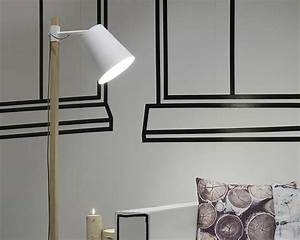 white floor lamp iron ashwood sydney it39s about romi With wooden floor lamp sydney