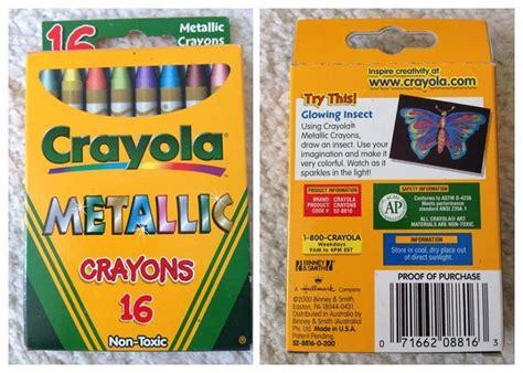 Crayola Metallic Fx And Metallic Effect Crayons