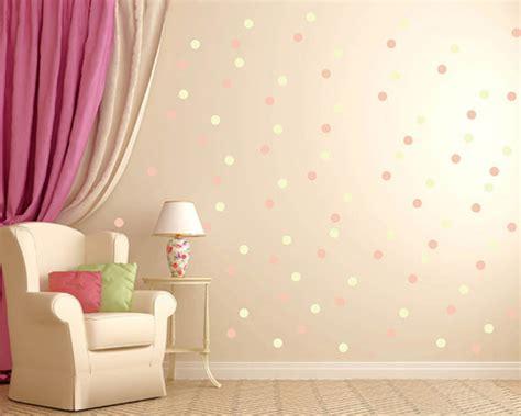 bolinhas diversas cores adesivos parede  elo mini
