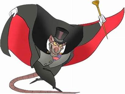 Ratigan Professor Villains Mouse Wiki Fandom Detective