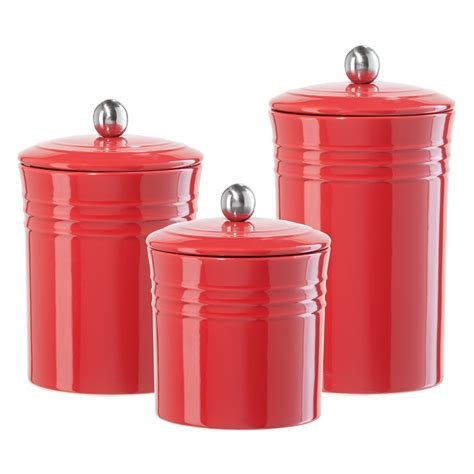 ceramic canisters for kitchen gift home today storage canisters for the kitchen