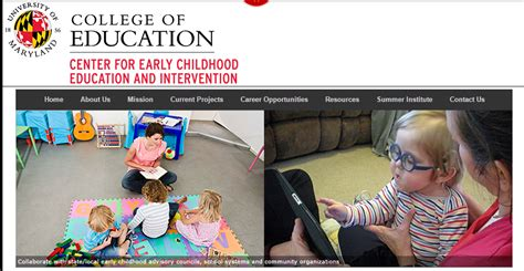 umd psyc  news center  early childhood education