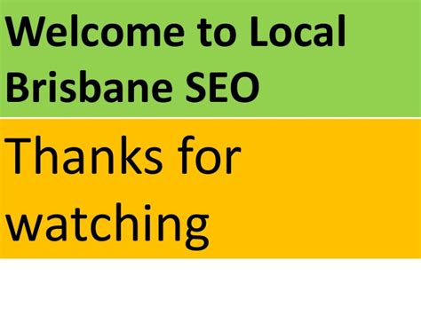 Local Search Engine Optimization Services by Seo Services Search Engine Optimization Brisbane