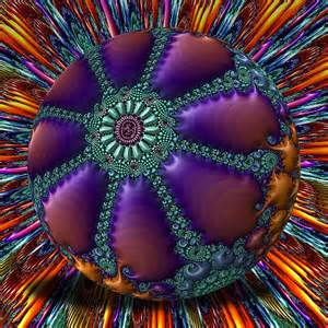 Psychedelic Fractal Art 3D