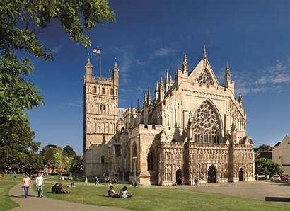 Exeter Cathedral Roman Today Baths Ancient Bath