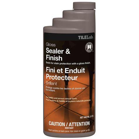 Saltillo Tile Sealer And Finish by Tilelab Gloss Sealer Finish Quart Ctlglssqt 3 In