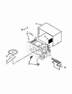 Amana Amc2206bas06 Countertop Microwave Parts