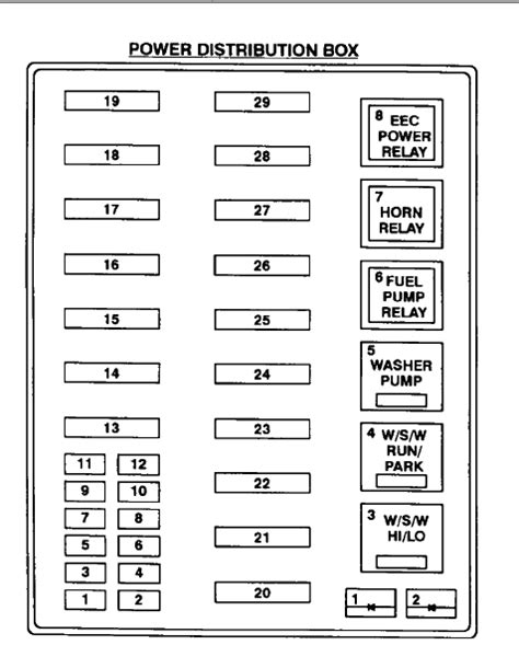 Fuse Box For 2008 Ford F250 by I Need Diagrams For Both Fuse Boxes For 1997 F250 Light