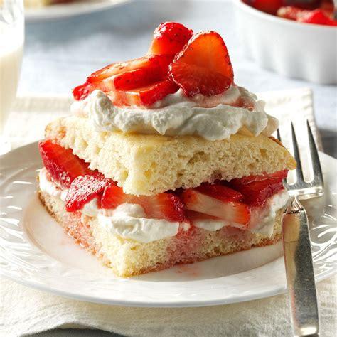 strawberry shortcake recipe taste  home