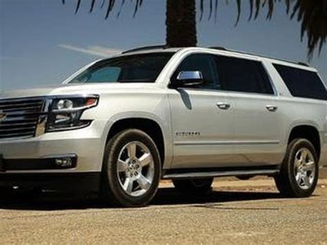 Large Car by Cnet On Cars 2015 Chevy Suburban Big Fresh And Tech