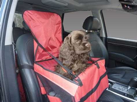Hdp Car Lookout Car Pet Booster Seat Dog Travel Size Small