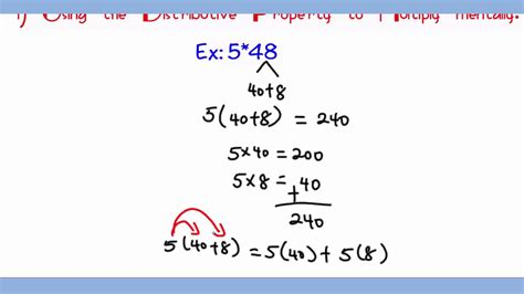 Distributive Property Of Multiplication Over Addition Worksheets  Kidz Activities