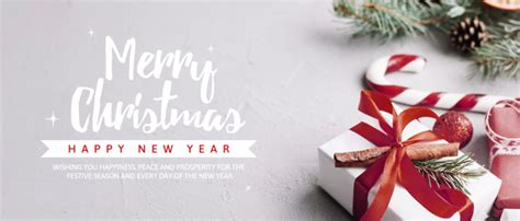 creative christmas party banner template psd file