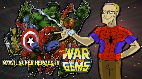 marvel super heroes war   gems super nintendosnes