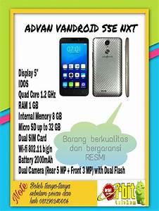 Jual Advan Vandroid S5e Nxt  U0026quot Termurah U0026quot  Di Lapak Orbit