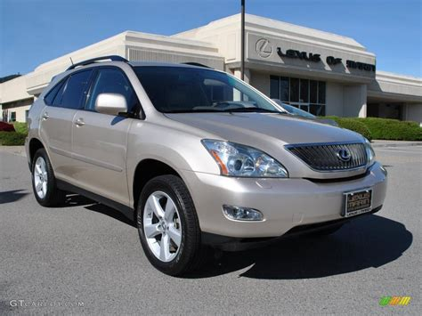 metallic lexus 2007 savannah beige metallic lexus rx 350 awd 30816748