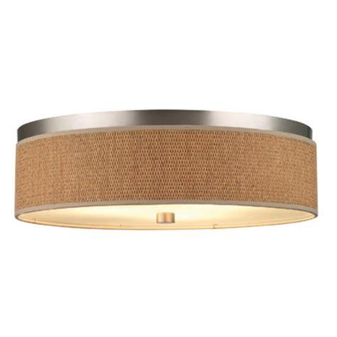 20 1 2 inch flushmount drum shade ceiling light