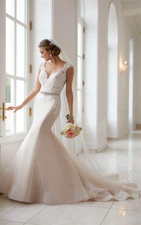 Curve Hugging Trumpet Wedding Dress Stella York