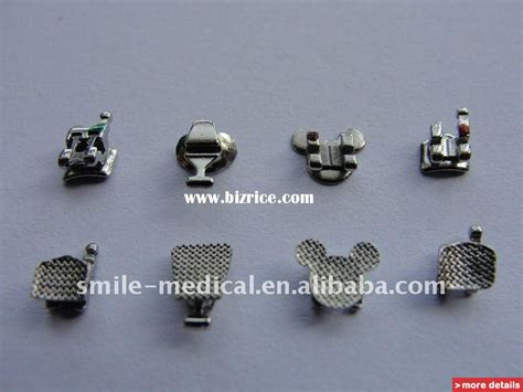 Orthodontic Metal Brackets( Different Types ) / China