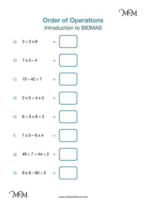 how to use bidmas bodmas pemdas maths with mum