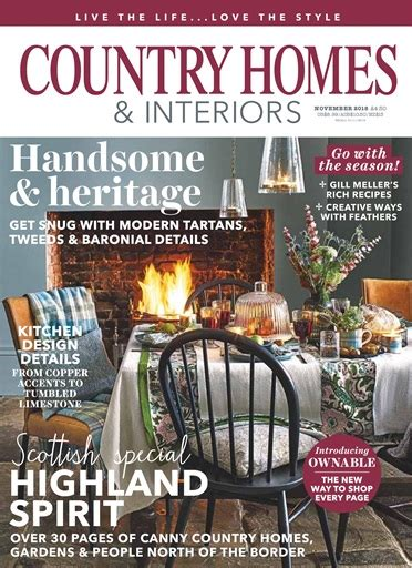 Country Homes And Interiors by Country Homes Interiors Magazine November 2018