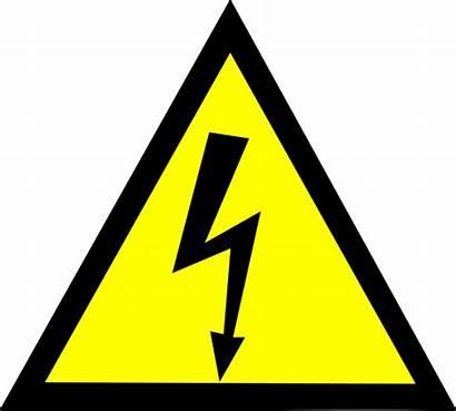Clipart Vector Voltage Clip Tension Symbol Svg
