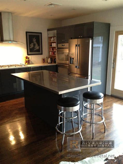 kitchen island counters stainless steel counter tops kitchen island bar