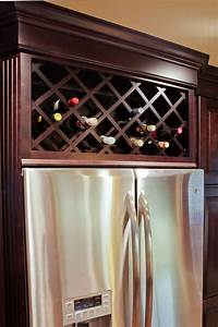 Wine Refrigerator Cabinet Built In - WoodWorking Projects