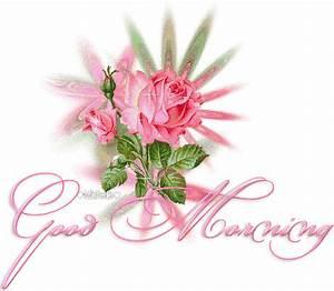 Good Morning Pink Roses | PunjabiGraphics.com