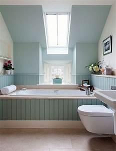 la salle de bain sous pente comment l39amenager de With salle de bain sous toit