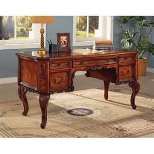 wildon home 174 oregon city executive desk with storage