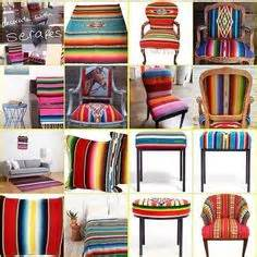 Striped Mexican Chairs