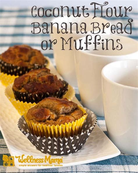 Check Out Grain Free Banana Bread & Muffins. It's So Easy