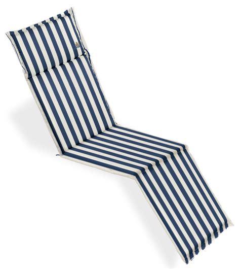 Cuscini Per Cuscino Per Deckchair 184x46 Cm Con Volant Arredo