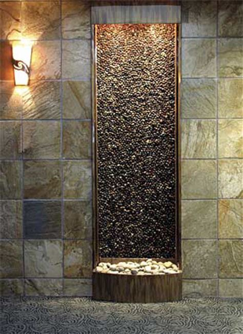 diy indoor waterfall custom water features indoor fountains san diego by 3393