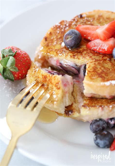 Berry Stuffed French Toast Recipe With Berries